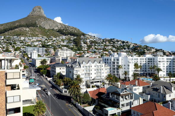 Aerial View Of Bantry Bay
