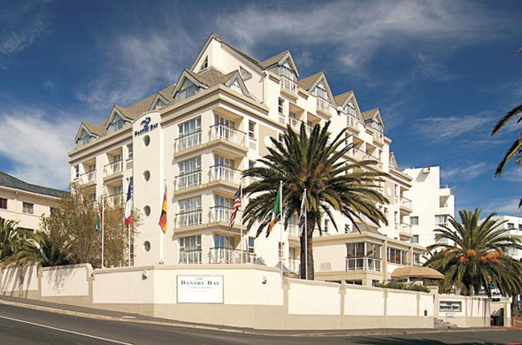 Exterior of Bantry Bay Luxury Suites.