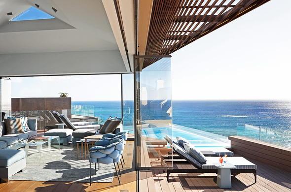 The Villa At Ellerman House Enjoys Magnificent Views