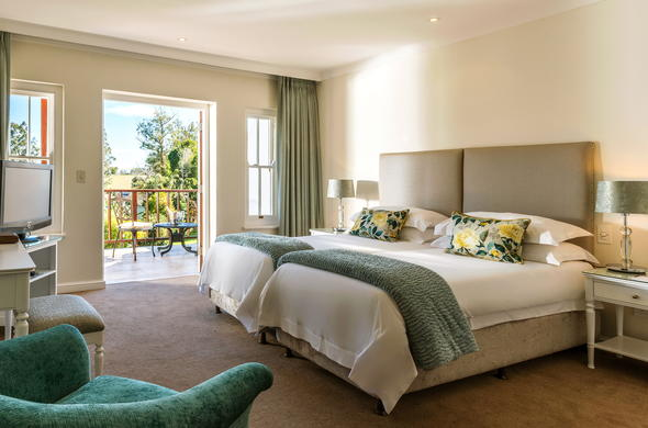 Spend the night at Fancourt Resort in the Classic Double Room.