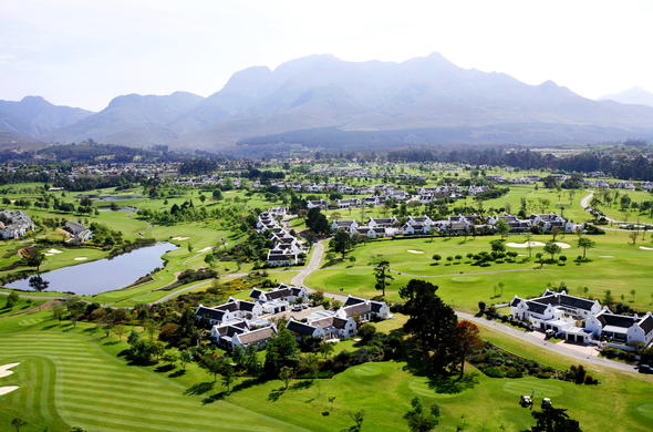 Fancourt Hotel in George on the Garden Route.