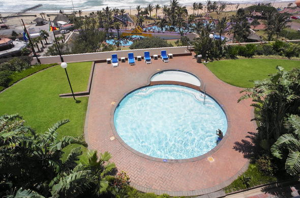 View Of The Swimming Pool And Beach Front From Room