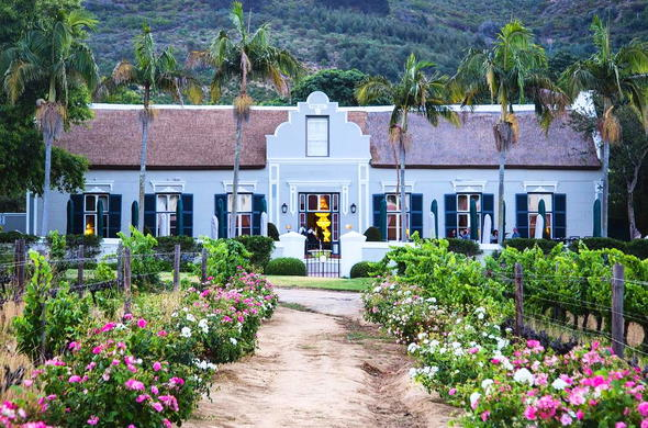 Grande Roche Hotel in Paarl, Cape Winelands.