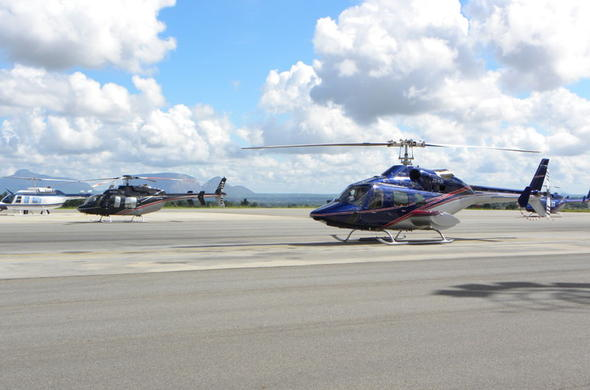 Johannesburg executive helicopter flights.