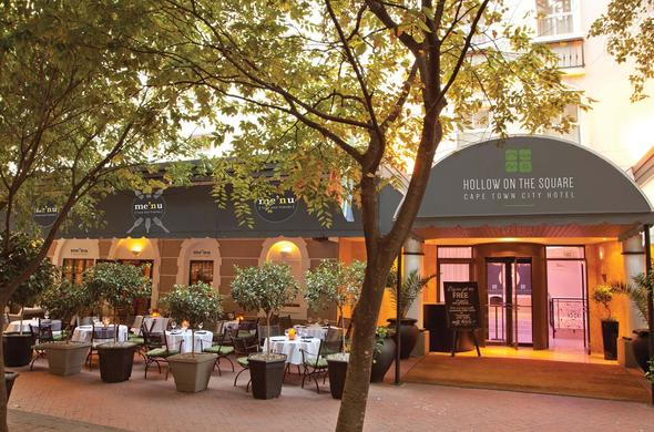 Exterior of Hollow on the Square in Cape Town CBD.