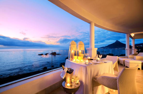 Twelve Apostles is a romantic hotel in Cape Town, South Africa.