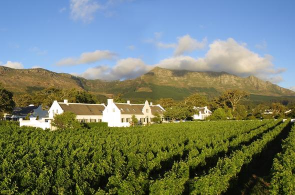 Steenberg Hotel in Constantia, Cape Town.